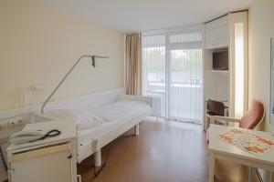 Patientenzimmer Schwarzwaldklinik Geriatrie Park-Klinikum Bad Krozingen