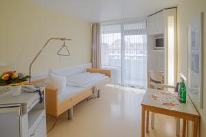 Patientenzimmer Schwarzwaldklinik Orthopädie Park-Klinikum Bad Krozingen