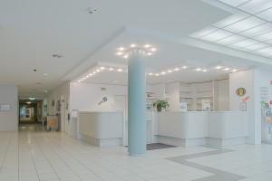 Rezeption Klinik Lazariterhof - Park-Klinikum Bad Krozingen